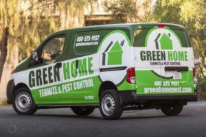 Green Home Carwrap - SmartWrap