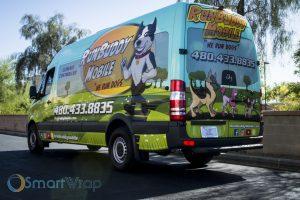Run Buddy Mobile Sprinter - SmartWrap® Vehicle Wraps