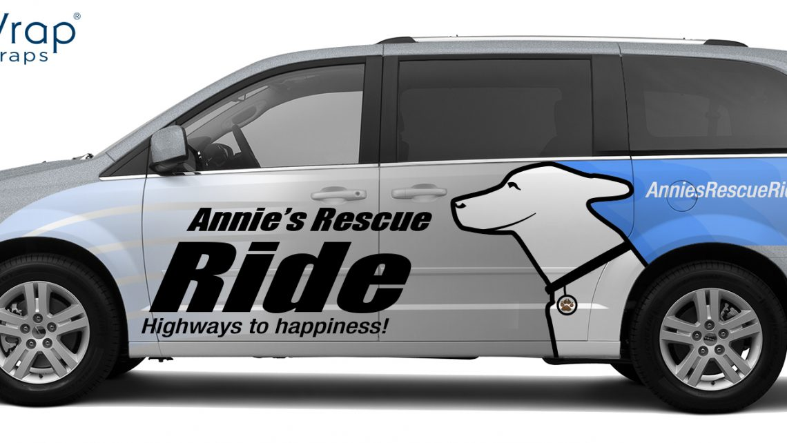 Annie's Rescue Wrap - SmartWrap Vehicle Wraps